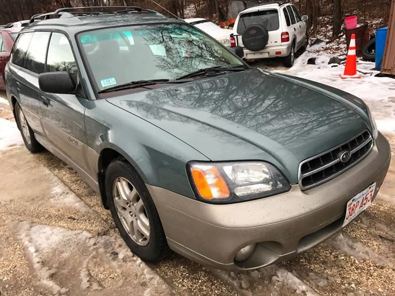 2001 Subaru Outback for sale at RIVERSIDE AUTO SALES AND SERVICE in Acushnet MA