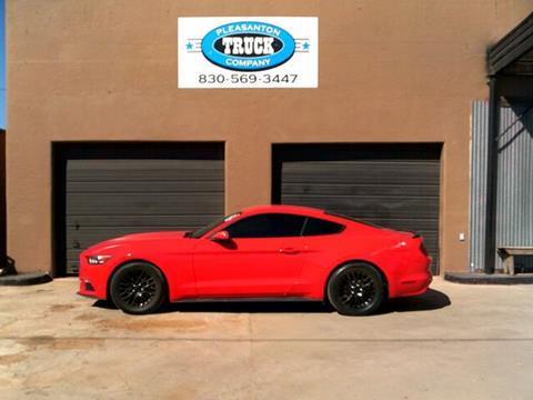 2015 Ford Mustang for sale in Pleasanton, TX