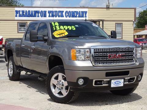 2014 GMC Sierra 2500HD for sale in Pleasanton, TX