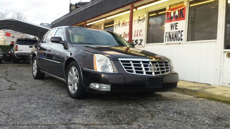 Cadillac Dts Luxury Passenger In Florence Sc Maxie S Auto