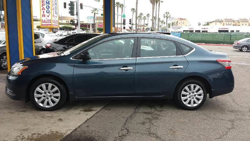 2013 Nissan Sentra for sale at B & J Auto Sales in Chula Vista CA