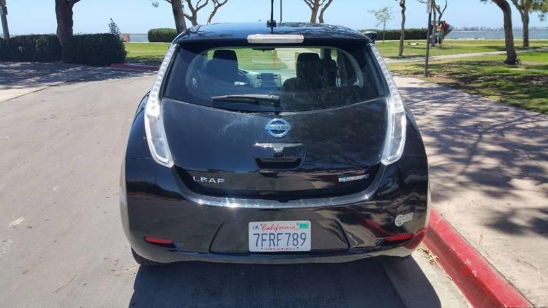 2014 Nissan LEAF for sale at B & J Auto Sales in Chula Vista CA
