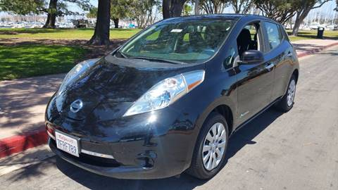 2014 Nissan LEAF for sale at B & J Auto Sales in Chula Vista CA