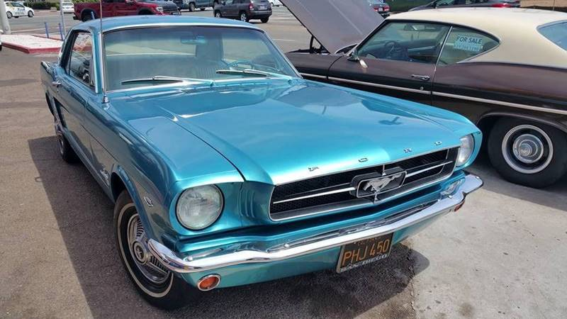1965 Ford Mustang for sale at B & J Auto Sales in Chula Vista CA