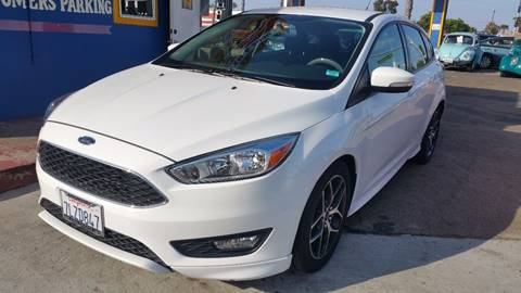 2015 Ford Focus for sale at B & J Auto Sales in Chula Vista CA