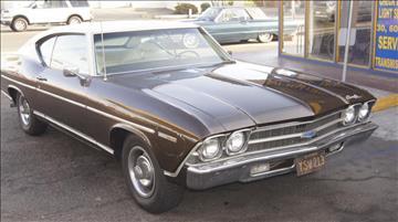 1969 Chevrolet Malibu for sale at B & J Auto Sales in Chula Vista CA