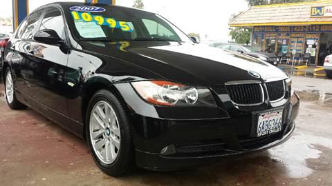 2007 BMW 3 Series for sale at B & J Auto Sales in Chula Vista CA