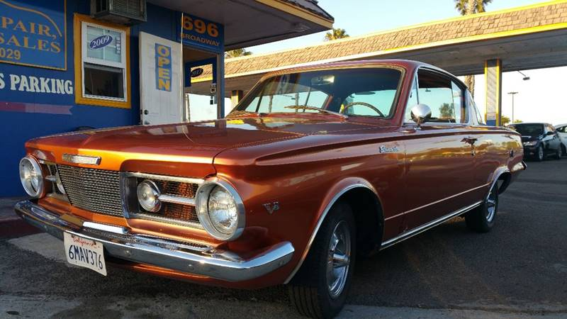 1965 Plymouth Barracuda for sale at B & J Auto Sales in Chula Vista CA