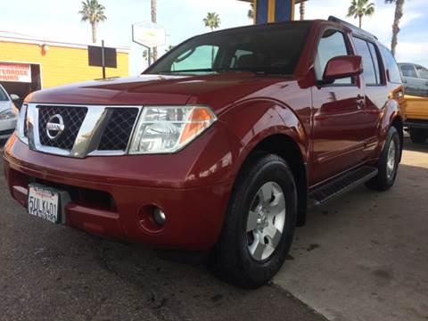 2006 Nissan Pathfinder for sale at B & J Auto Sales in Chula Vista CA