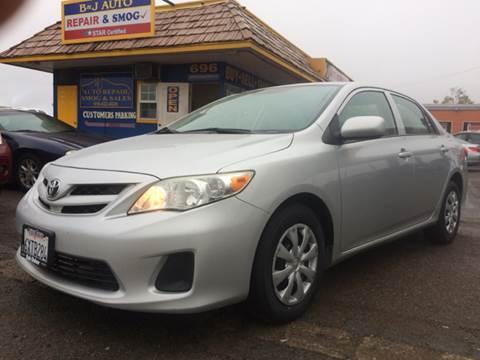 2012 Toyota Corolla for sale at B & J Auto Sales in Chula Vista CA