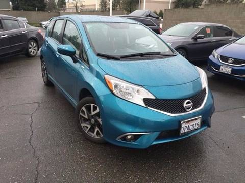 2015 Nissan Versa Note for sale at B & J Auto Sales in Chula Vista CA