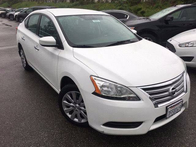 2014 Nissan Sentra for sale at B & J Auto Sales in Chula Vista CA