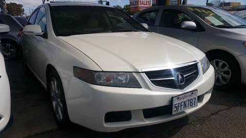 2005 Acura TSX for sale at B & J Auto Sales in Chula Vista CA