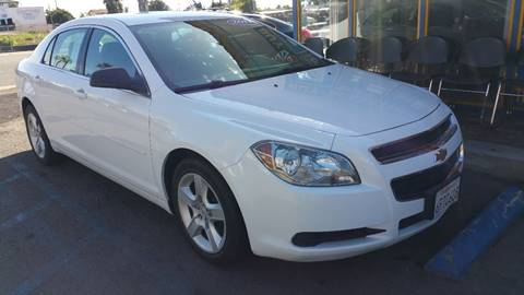 2011 Chevrolet Malibu for sale at B & J Auto Sales in Chula Vista CA