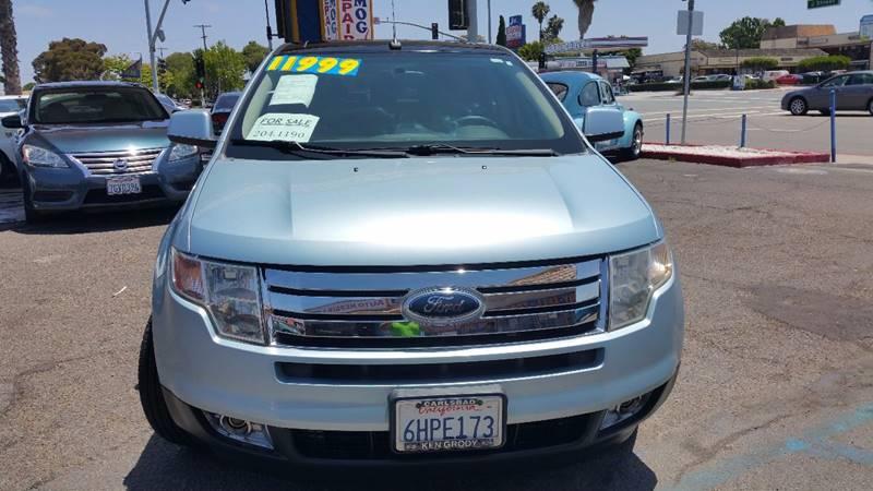 2008 Ford Edge for sale at B & J Auto Sales in Chula Vista CA