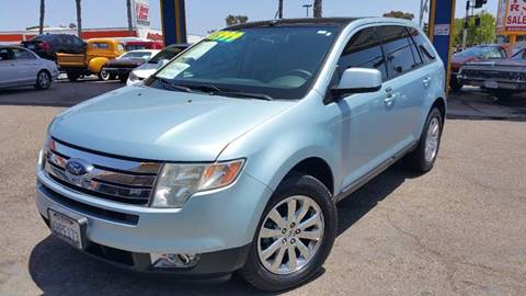 2008 Ford Edge for sale at B & J Auto Sales in Chula Vista CA