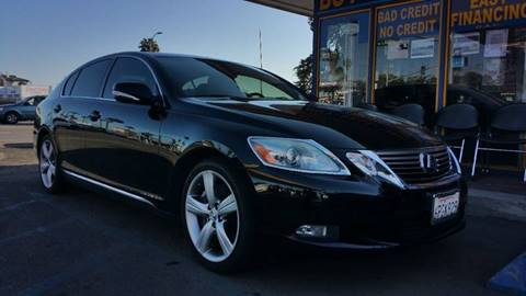2010 Lexus GS 450h for sale at B & J Auto Sales in Chula Vista CA
