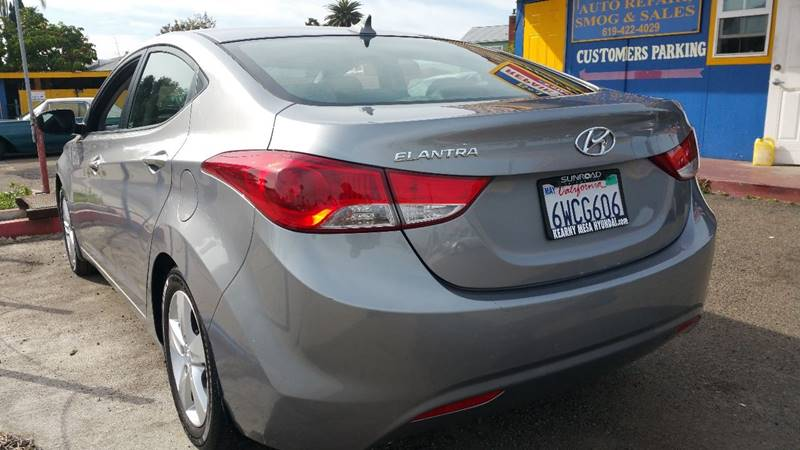 2013 Hyundai Elantra for sale at B & J Auto Sales in Chula Vista CA