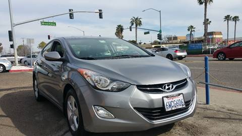 2013 Hyundai Elantra for sale at B & J Auto Sales in Chula Vista CA