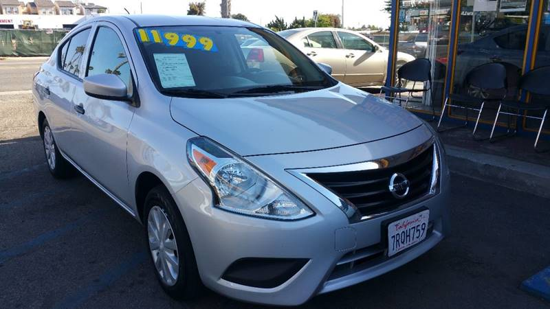 2016 Nissan Versa for sale at B & J Auto Sales in Chula Vista CA
