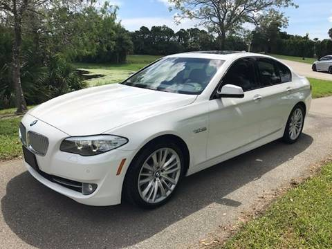 2011 BMW 5 Series for sale at DENMARK AUTO BROKERS in Riviera Beach FL