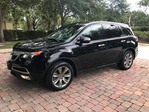 2013 Acura MDX for sale at DENMARK AUTO BROKERS in Riviera Beach FL