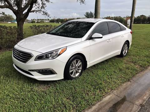 2015 Hyundai Sonata for sale at DENMARK AUTO BROKERS in Riviera Beach FL