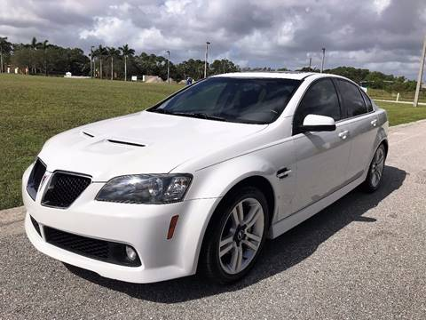 2008 Pontiac G8 for sale at DENMARK AUTO BROKERS in Riviera Beach FL