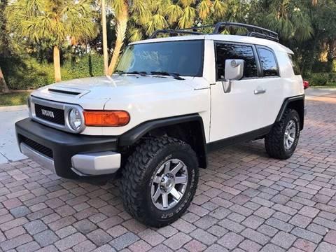 2014 Toyota FJ Cruiser for sale at DENMARK AUTO BROKERS in Riviera Beach FL