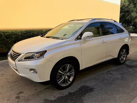 2015 Lexus RX 350 for sale at DENMARK AUTO BROKERS in Riviera Beach FL