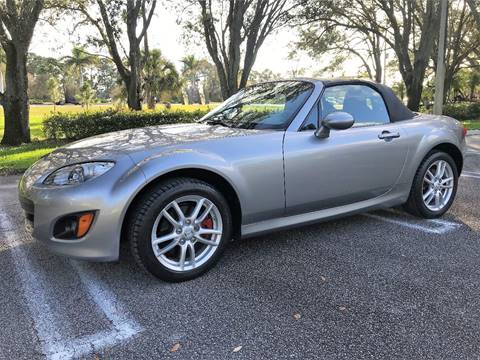 2009 Mazda MX-5 Miata for sale at DENMARK AUTO BROKERS in Riviera Beach FL