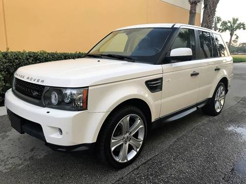 2010 Land Rover Range Rover Sport for sale at DENMARK AUTO BROKERS in Riviera Beach FL