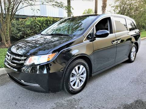 2015 Honda Odyssey for sale at DENMARK AUTO BROKERS in Riviera Beach FL