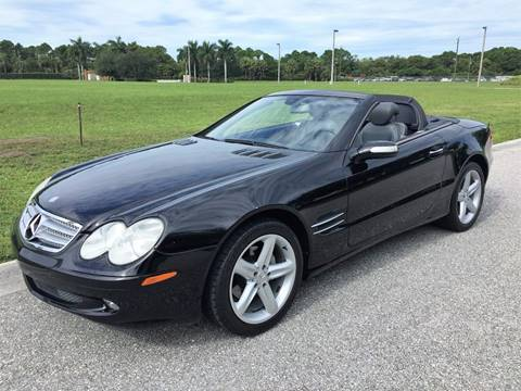 2005 Mercedes-Benz SL-Class for sale at DENMARK AUTO BROKERS in Riviera Beach FL