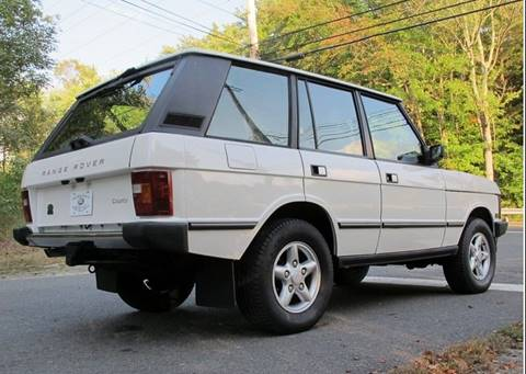 1995 Land Rover Range Rover for sale at DENMARK AUTO BROKERS in Riviera Beach FL
