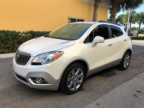 2016 Buick Encore for sale at DENMARK AUTO BROKERS in Riviera Beach FL