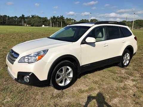 2013 Subaru Outback for sale at DENMARK AUTO BROKERS in Riviera Beach FL