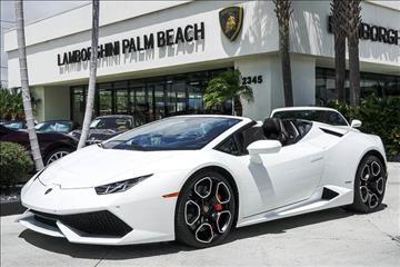 2016 Lamborghini Huracan for sale in West Palm Beach, FL