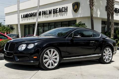 2014 Bentley Continental GT V8 for sale in West Palm Beach, FL
