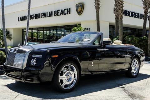 2009 Rolls-Royce Phantom Drophead Coupe for sale in West Palm Beach, FL