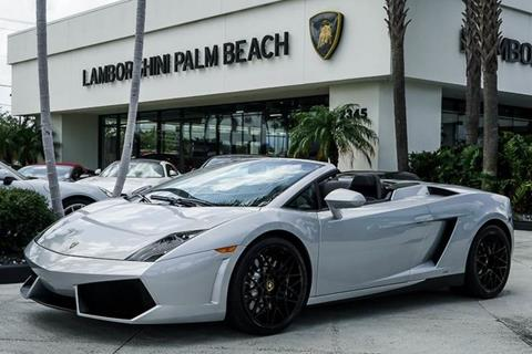 2012 Lamborghini Gallardo for sale in West Palm Beach, FL