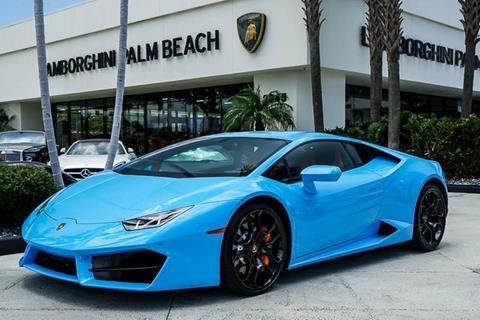 2017 Lamborghini Huracan for sale in West Palm Beach, FL