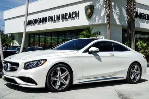 2016 Mercedes-Benz S-Class for sale in West Palm Beach, FL