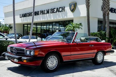 1989 Mercedes-Benz 560-Class for sale in West Palm Beach, FL