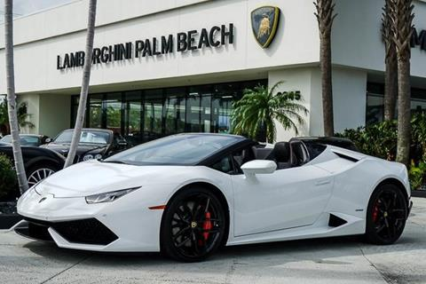 2016 Lamborghini Huracan for sale in West Palm Beach, FL