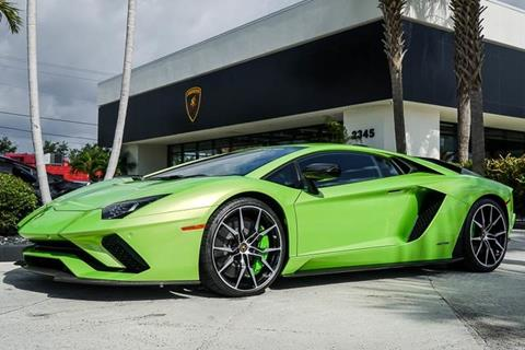 2018 Lamborghini Aventador For Sale In West Palm Beach, FL