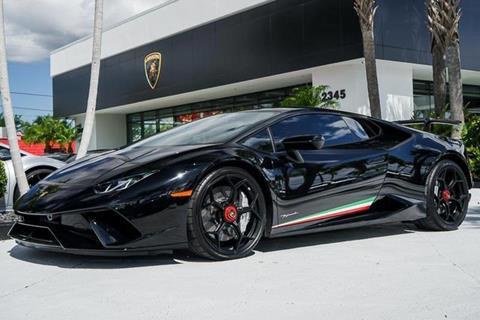 Used 2016 Lamborghini Huracan Super Trofeo For Sale