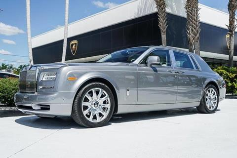 2016 Rolls-Royce Phantom for sale in West Palm Beach, FL