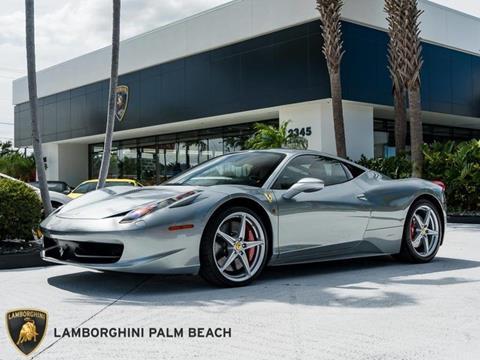 2013 Ferrari 458 Italia for sale in West Palm Beach, FL