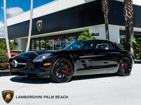 2012 Mercedes-Benz SLS AMG for sale in West Palm Beach, FL